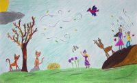 Ειρήνη Διακογεωργίου - 8ο Δημ. Σχολείο Ρόδου - Ο άνεμος επιστρέφει