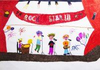 Κατερίνα Χρηστάκου και Σοφία Νικολάου - 1ο Δημ. Σχολείο Αμαρύνθου - Oz Rock Star