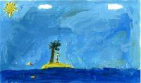 Δήμητρα Ζάκκα - 2ο Δημ. Σχολείο Ιστιαίας Ευβοίας - Εγώ σε ένα τροπικό νησί