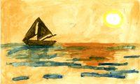 Ιωάννα Καρυδιά - 4ο Δημ. Σχολείο Χίου - Μια μέρα στη θάλασσα