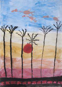 Αγγελίνα Μαργέλη - 1ο Δημ. Σχολείο Λευκάδας - Ο ήχος των φλαμίγκο στη λιμνοθάλασσα της Λευκάδας - 2ο βραβείο Παιδιά 6-8 ετών