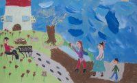 Βασιλική Μαρία Σάρλα - 25ο Δημοτικό Σχολείο Χαλκίδας - Ο καστανάς της πόλης