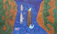 Σίμος Ζαμπέλης - Δημ. Σχολείο Απολλωνίας Σίφνου - Συμπληγάδες πέτρες