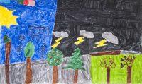 Πέτρος Σιδηράς - 17ο Δημ. Σχολείο Ρόδου - Η μουσική του τρελομάρτη - 3ο βραβείο Παιδιά 6-8 ετών