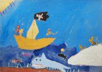 Σπύρος Τσώκος - 8ο Δημ. Σχολείο Χαλκίδας - Οι πειρατές και οι τίγρεις - 3ο Βραβείο