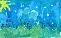 Τριανταφύλλη Θηβαίου - 1ο Δημ. Σχολείο Ιστιαίας Ευβοίας - Τριαντάφυλλα - 3ο Βραβείο Παιδιά 6-8 ετών