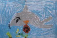 Μανόλης Πρωτονοτάριος - 1ο Δημ. Σχολείο Χώρας Νάξου - Το δελφίνι