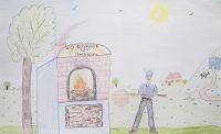Άννα Μηνατσή - 1ο Δημ. Σχολείο Καρπάθου - Ο ξυλόφουρνος