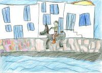 Χρήστος Νικολάου - Δημ. Σχολείο Αγίου Βασιλείου Κ.Β΄Στρόβολος Λευκωσία - 3ο Βραβείο Παιδιά 9-12 ετών