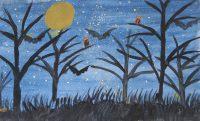 Θεμιγιάννα Κουκιάλι - Δημ. Σχολείο Γυθείου - Η νύχτα - 3ο βραβείο Παιδιά 9-12 ετών