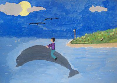 Σοφία Καραδήμου - 13ο Δημ. Σχολείο Χαλκίδας - Το παιδί και το δελφίνι