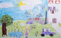 Λίντα Παπαγεωργίου - 2ο Δημ.Σχολείο Αγίων Θεοδώρων - Ζωγραφίζω τη μουσική