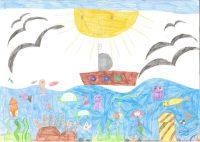 Ευαγγελία Πανταζή - 7ο Δημ. Σχολείο Μυτιλήνης - το θαλασσιννό μου όνειρο