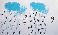 Παρασκευή Μπάλλα - Δημ. Σχολείο Βέλου Κορινθίας - Βροχή με νότες