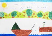 Λέο Σινάνι - Δημ. Σχολείο Κασσιώπης Κέρκυρας - Ο ψαράς