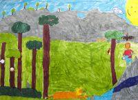 Τάσος Ζάνιος, Νίκος Μερτζανίδης και Αριστοτέλης Κριτσιώτης - 1ο Δημ. Σχολείο Αμαρύνθου - Το τραγούδι της ζούγκλας - 2ο Βραβείο