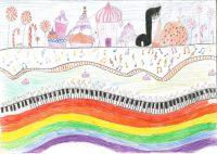 Μαρία - Γεωργία Νίνου - Δημ. Σχολείο Αδάμαντα Μήλου - Πάνω από το ουράνιο τόξο