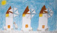 Χρήστος Μπουρντένης - 2ο Δημ. Σχολείο Μυκόνου - Τοπίο