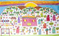Παναγιώτα Σταυρουλάκη - Δημ. Σχολείο Έμπωνα Ρόδου - Το ηλιόλουστο χωριό