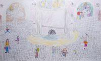 Ιωάννα Παύλου - 1ο Δημ. Σχολείο Λουτρακίου - Η ιαματική πηγή με τα ψηφιδωτά