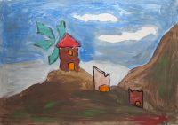 Σωτήριος Κατσουλλάκης - 3ο Δημ. Σχολείο Μύρινας Λήμνου - Ανεμόμυλοι της Λήμνου
