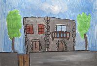 Χριστιάνα Κοτσώνη - 3ο Δημ. Σχολείο Μύρινας Λήμνου - Παραδοσιακό Λημνιό σπίτι