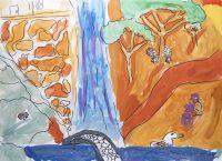 Κατερίνα Ονουφρίου - Δημ. Σχολείο Αγίων Αναργύρων Λάρνακα Κύπρου - Στην κακοπετριά