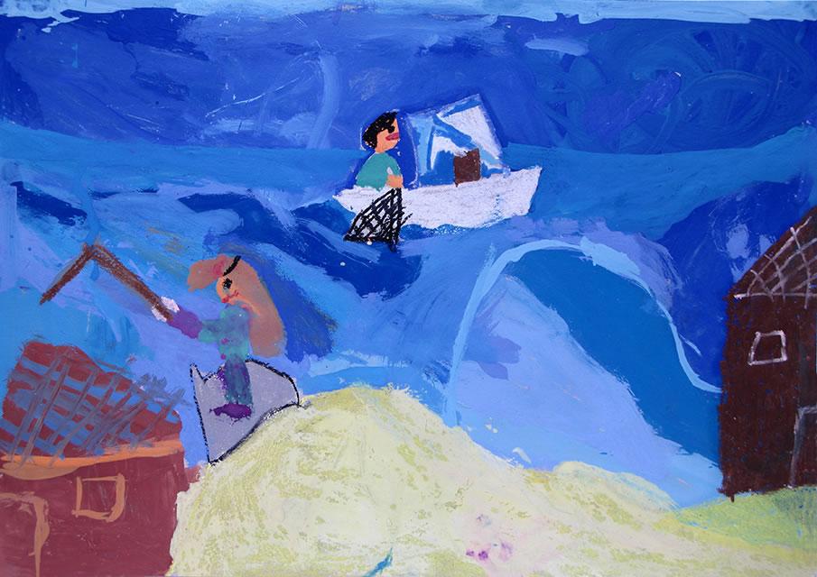 Άννα Γκιόκα (25ο Δημ. Χαλκίδας) - Βραβείο εκτός συναγωνισμού