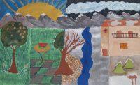 Σταυρούλα Χαρινού - Δημ. Σχολείο Λακκίου Λέρου - Τέσσερεις εποχές, ένα χωριό