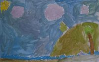 Μαρία Ποργιώτη - Δημ. Σχολείο Απολλωνίας Σίφνου - Το καλοκαίρι στη Σίφνο, μ'αρέσει στον Πλατύ Γυαλό