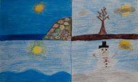 Μιχάλης Κουλούμπρης - Δημ. Σχολείο Παστίδας Ρόδου - Οι τέσσερεις εποχές