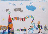 Γεώργιος Ασλάνογλου (νήπιο - Νηπιαγωγείο Σκάλας Πάτμου) - Α' Βραβείο Προσχολικής Ηλικίας