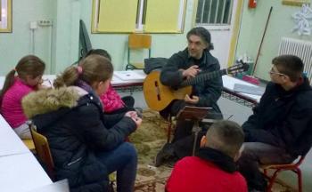 Ο σολίστ Δημήτρης Κουρζάκης στο Μουσικό Εργαστήρι Λήμνου