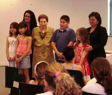 Βράβευση νικητών για το διαγωνισμό ζωγραφικής 2008