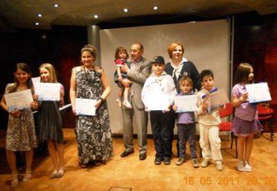 Βράβευση νικητών για το διαγωνισμό ζωγραφικής 2010