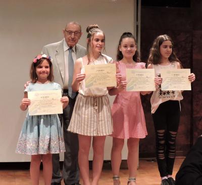 Απονομή των βραβείων του Διαγωνισμού Ζωγραφικής 2017