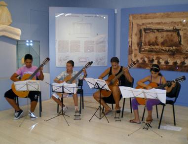 Συναυλία Μουσικού Εργαστηρίου Κέας στο Αρχαιολογικό Μουσείο Κέας 2012