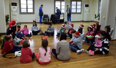 Χριστουγεννιάτικη γιορτή στο Μουσικό Εργαστήρι Κέας 2016