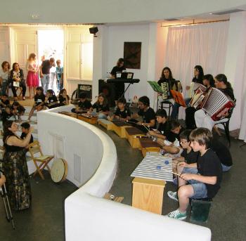 Καλοκαιρινή Συναυλία Μουσικού Εργαστηρίου Σαντορίνης 2013