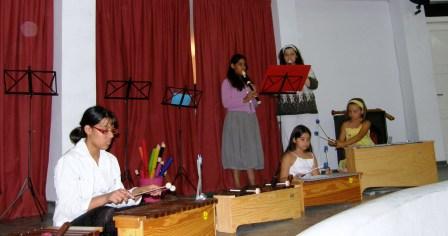 Συναυλία του Μουσικού Εργαστηρίου Σαντορίνης 2009
