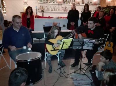 Χριστουγεννιάτικη συναυλία Μουσικού Εργαστηρίου Σερίφου