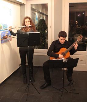 Έκθεση παιδικής ζωγραφικής και μουσική βραδιά στη Σέριφο