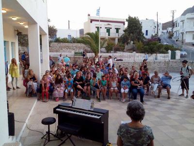 Καλοκαιρινή Συναυλία Μουσικού Εργαστηρίου Σερίφου 2016