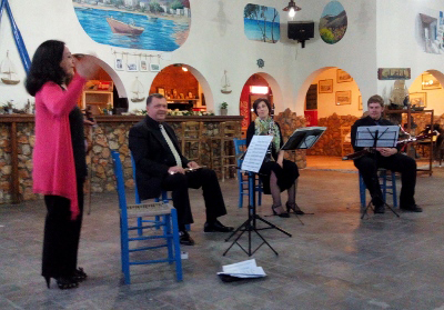 «Οι μουσικοί διασκεδάζουν με την μουσική» στη Σέριφο
