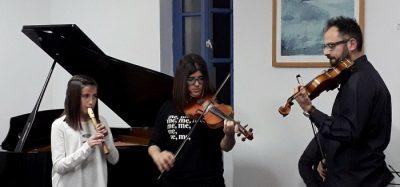 Κοπή της Πρωτοχρονιάτικης Πίτας 2018 στο Μουσικό Εργαστήρι Σίφνου