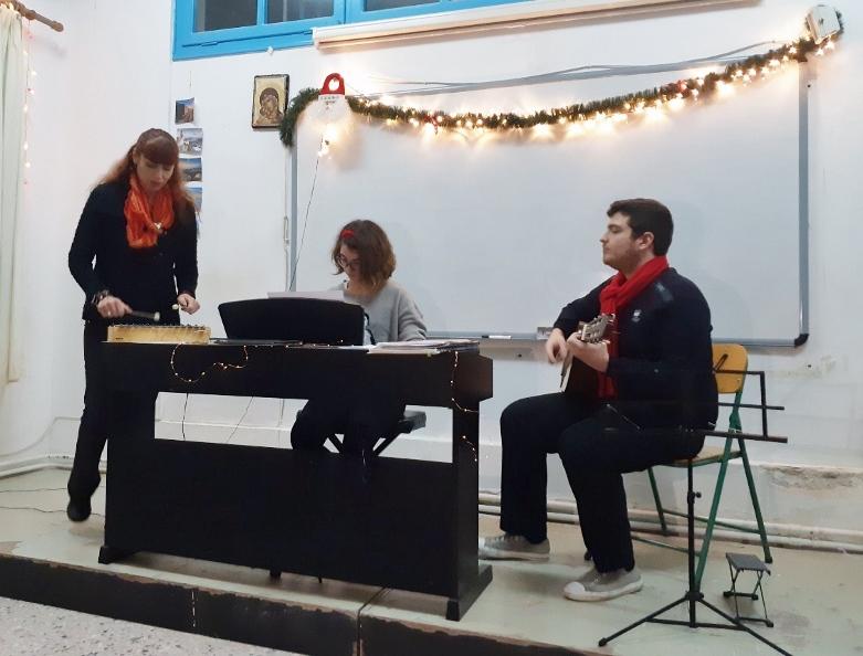 Χριστουγεννιάτικη γιορτή Μουσικού Εργαστηρίου Σερίφου 2018