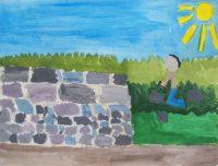 Αυγερινός Κωβαίος - Δημ. Σχολείο Σχοινούσας - Ο πετράς στη δουλειά του
