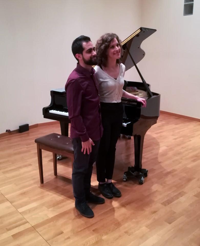 Βραδιά πιάνου με την Αθ. Κορδή και τον Αλ. Καλοσπύρο