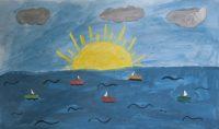 """Σελίν Ζαμαντάκη, 18ο Δημ. Σχολείο Ρόδου, """"Άσπρα καράβια τα όνειρά μας"""""""