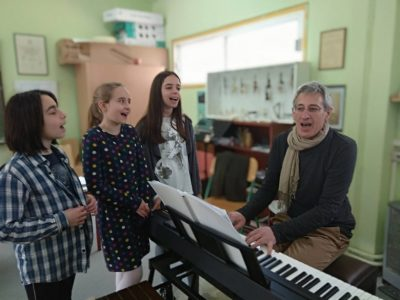 Ο Γιώργος Πατεράκης στο Μουσικό Eργαστήρι Λήμνου